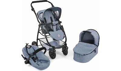 CHIC2000 Kombi-Puppenwagen »Emotion All In 3in1, Blau«, inkl. Babywanne, Babyschale... kaufen