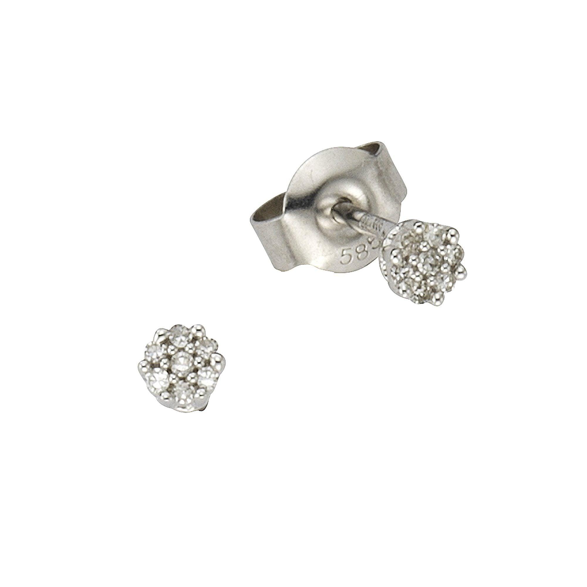 Diamonds by Ellen K Ohrstecker 585/- Weißgold Diamant 0055ct | Schmuck > Ohrschmuck & Ohrringe | Diamonds By Ellen K.