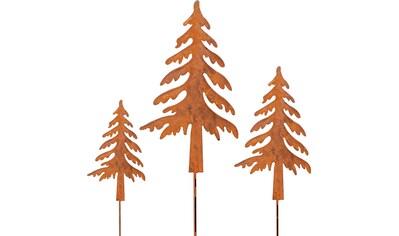 my home Gartenstecker, »Tannenbaum«, (Set, 3 - tlg.) kaufen