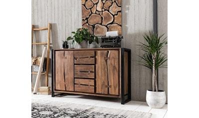 SIT Sideboard »Live Edge«, aus Akazienholz, mit markanten Baumkanten in der Front, in zwei Breiten kaufen