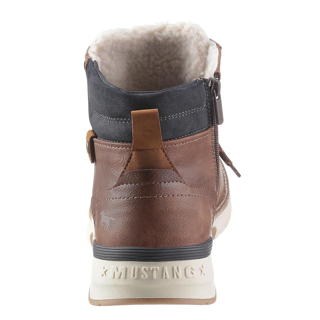 Mustang Shoes Winterboots, mit gepolstertem Schaftrand