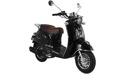 ALPHA MOTORS Motorroller »Venus«, 50 ccm, 45 km/h, schwarz kaufen