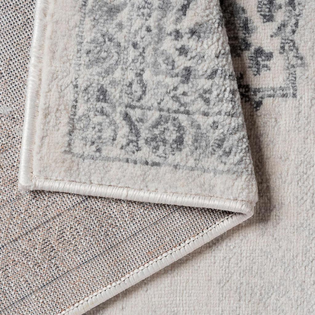 Sehrazat Teppich »Montana 3724«, rechteckig, 8 mm Höhe, Kurzflor, Vintage Design, Wohnzimmer