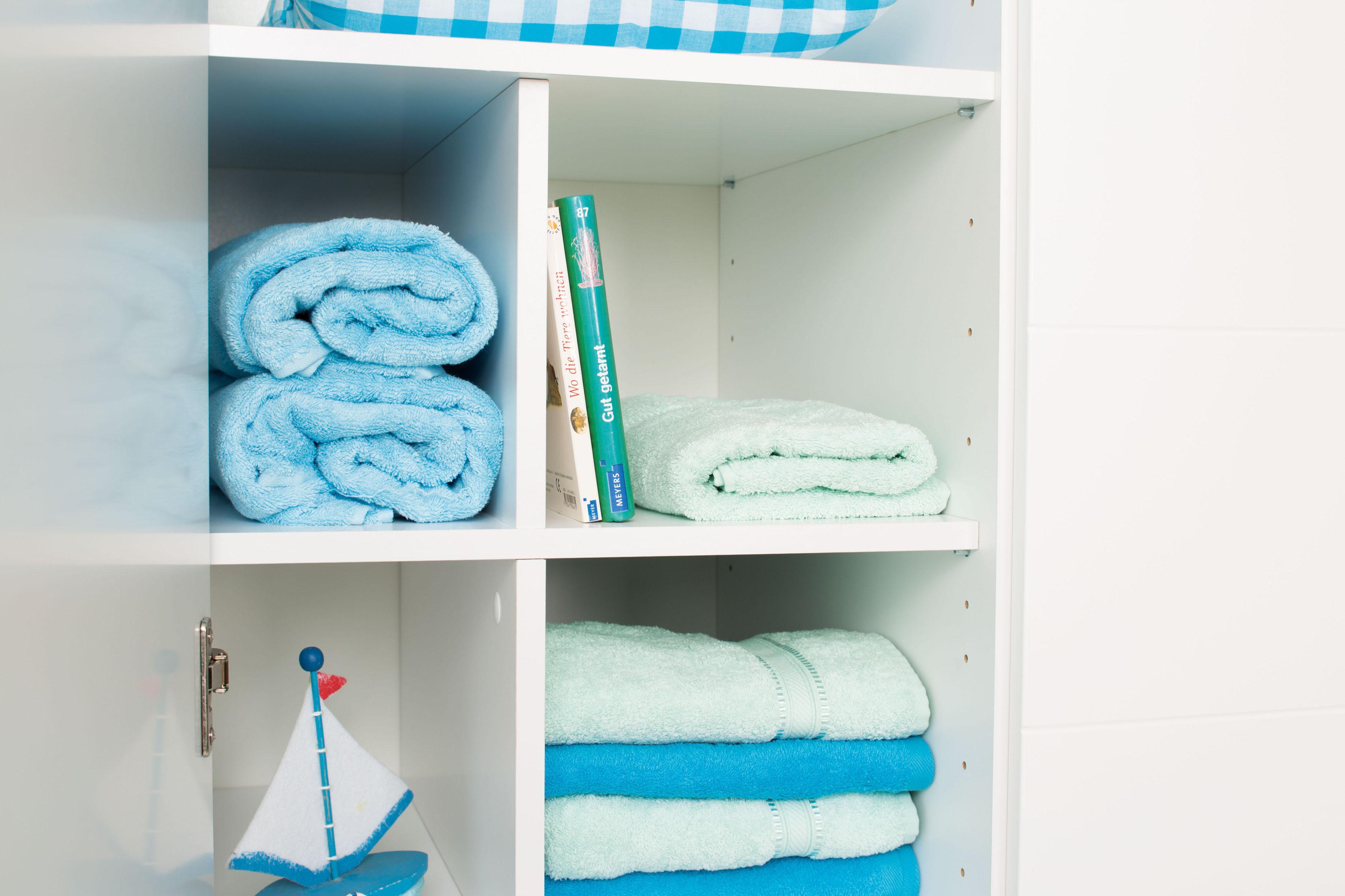 PAIDI Inneneinteilung Lotte & Fynn, Steiff by Paidi, geeignet für Fynn Kleiderschrank 3-türig weiß Zubehör Kleiderschränke Möbel