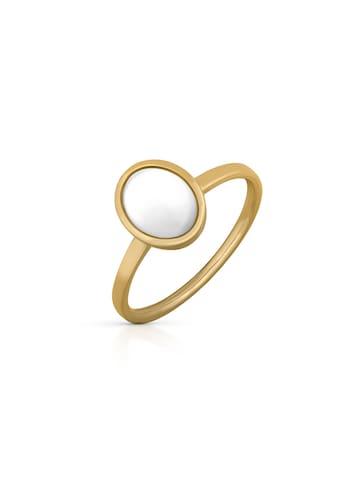 Orolino Fingerring »585/- Gold gelb Perlmutt Bergkristall« kaufen