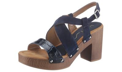 Unisa Sandalette »Terrat«, im trendigen Seventies-Look kaufen
