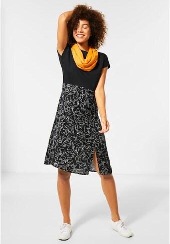 STREET ONE Jerseykleid, mit Schlitz auf der Vorderseite kaufen
