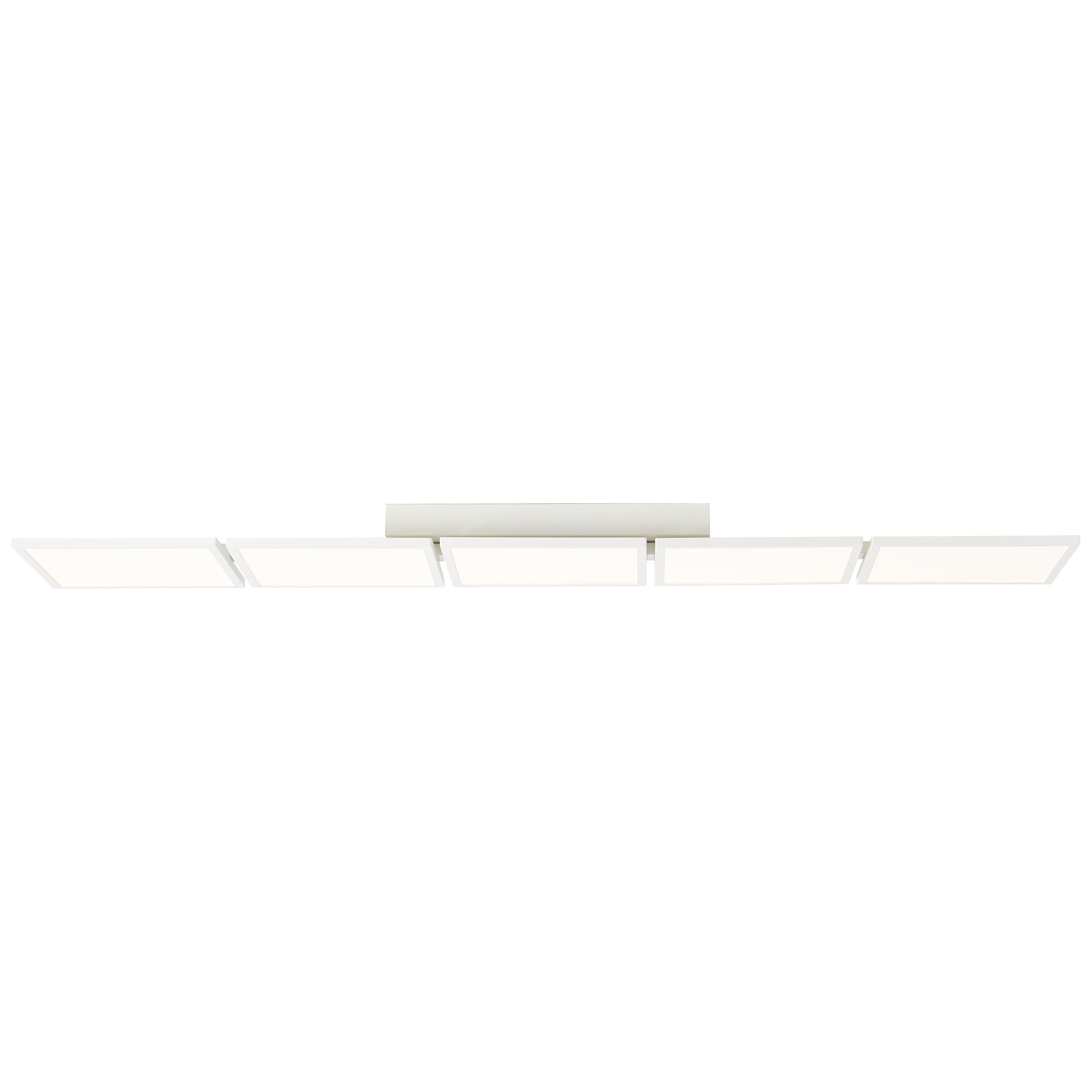 AEG Garek LED Deckenaufbau-Paneel 129x25cm sand/weiß