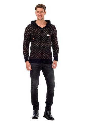 Cipo & Baxx Kapuzensweatshirt, mit coolem Muster kaufen