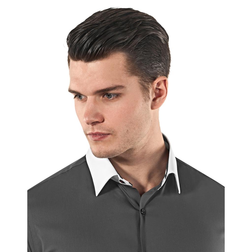 Vincenzo Boretti Businesshemd mit bügelleichter Eigenschaft