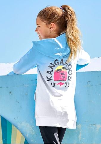 KangaROOS Kapuzensweatshirt, in längerer Form kaufen