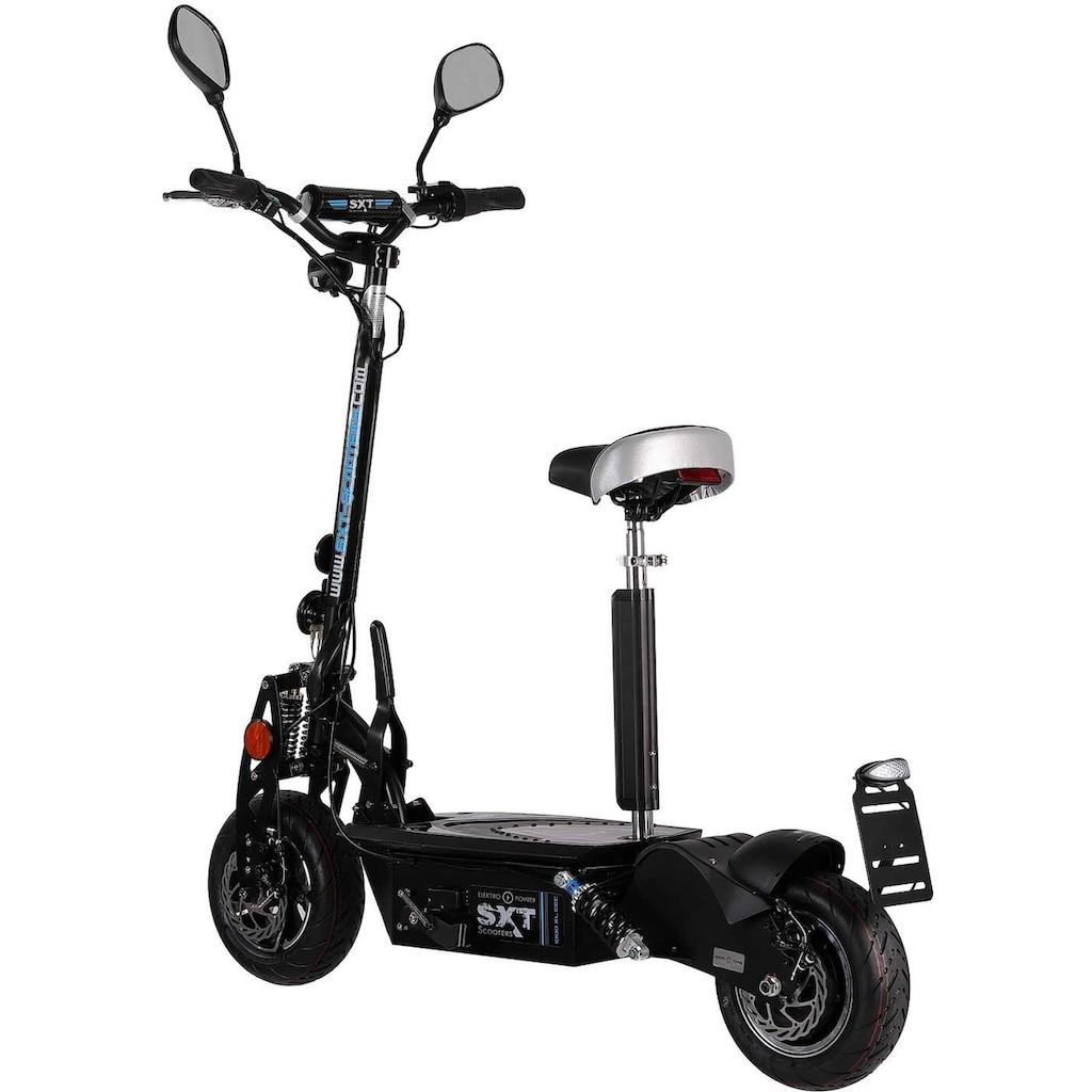 SXT Scooters E-Scooter »SXT 1000 XL EEC«, Facelift, Lithium Ion Akku 48V 30Ah