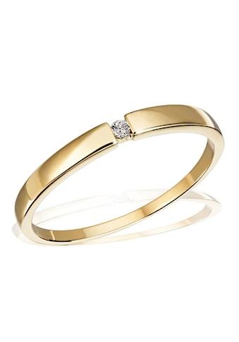 goldmaid Damenring Solitär 333/ -  Gelbgold 1 Brillant 0,03 ct. P1/KL kaufen