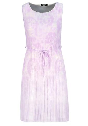 SUBLEVEL A-Linien-Kleid, plissiert mit Batik-Print kaufen