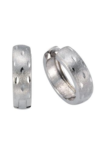 Vivance Klappcreolen »925/ -  Sterling Silber diamantiert« kaufen