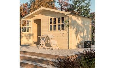 NORDIC HOLZ Gartenhaus »Modena«, BxT: 390x331 cm kaufen