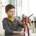 Hasbro Actionfigur »Marvel Avengers: Titan Hero Serie Blast Gear Iron Man«, mit Schießfunktion