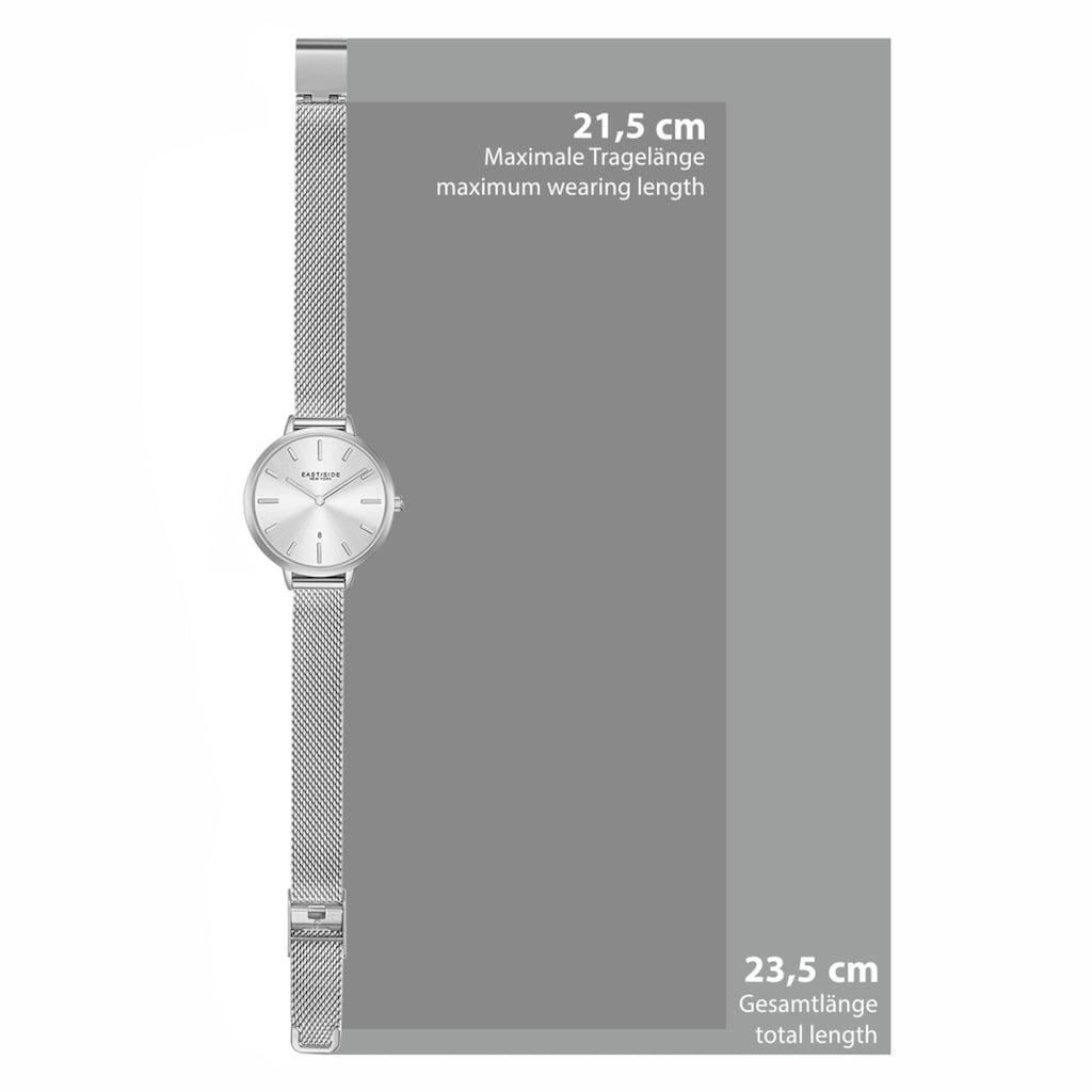 Eastside Quarzuhr »ES314«, (1 tlg.), mit Edelstahl-Armband