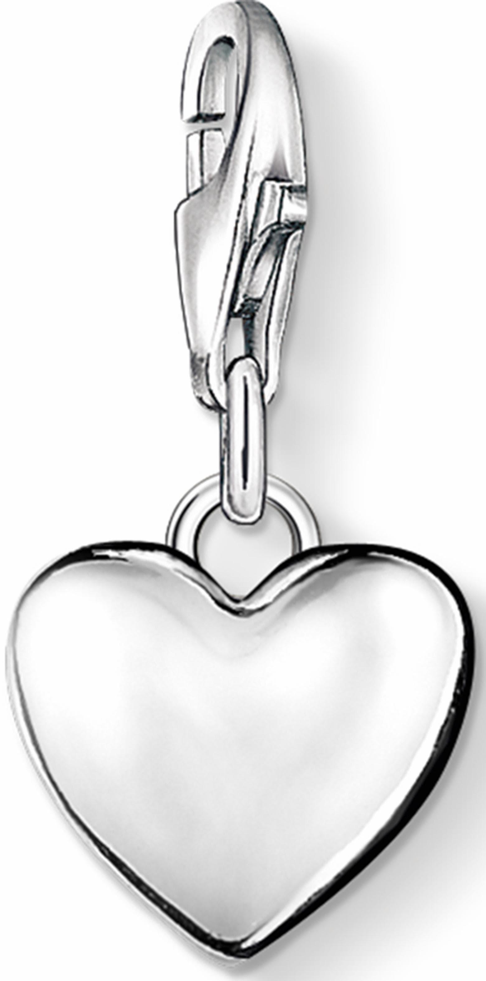 THOMAS SABO Charm-Einhänger Herz, 0913-001-12 | Schmuck > Charms > Charms Anhänger | Thomas Sabo