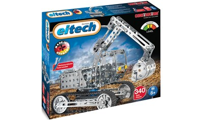Eitech Metallbaukasten »Bagger/Kranwagen«, (340 St.), Made in Germany kaufen