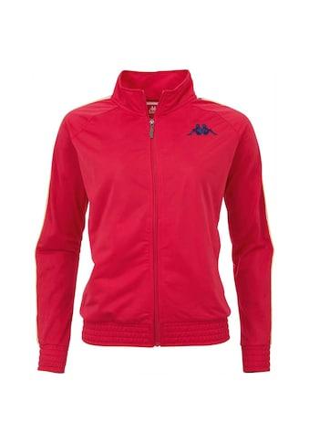 Kappa Trainingsjacke »AUTHETNIC VALMIRA«, mit mehrfarbigem Logoband an den &Auml;rmeln<br /> kaufen