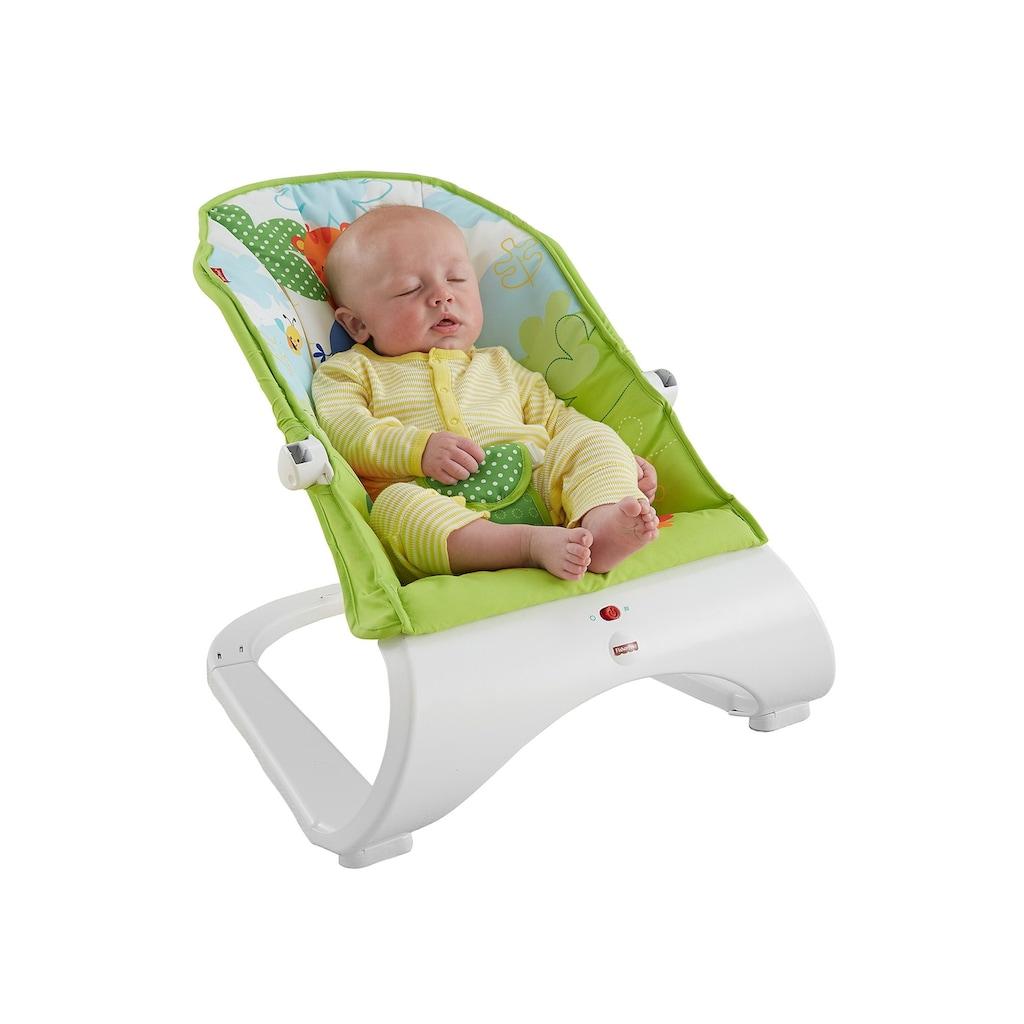 Fisher-Price® Babywippe »Comfort Curve Wippe«, bis 11 kg, mit abnehmbarem Spielbogen