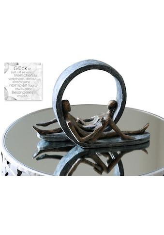 Casablanca by Gilde Dekofigur »Skulptur Auszeit«, Dekoobjekt, Höhe 22 cm, mit... kaufen
