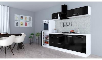 RESPEKTA Küchenzeile »RP270«, mit E - Geräten, Breite 270 cm kaufen