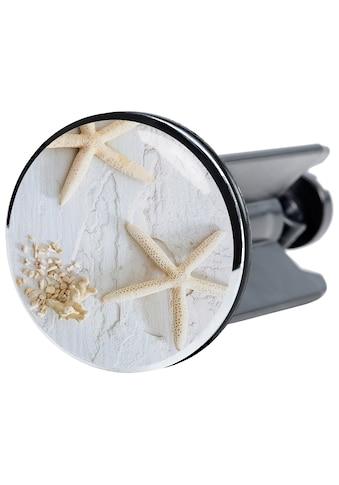 Sanilo Waschbeckenstöpsel »Seesterne Grau«, Ø 4 cm kaufen