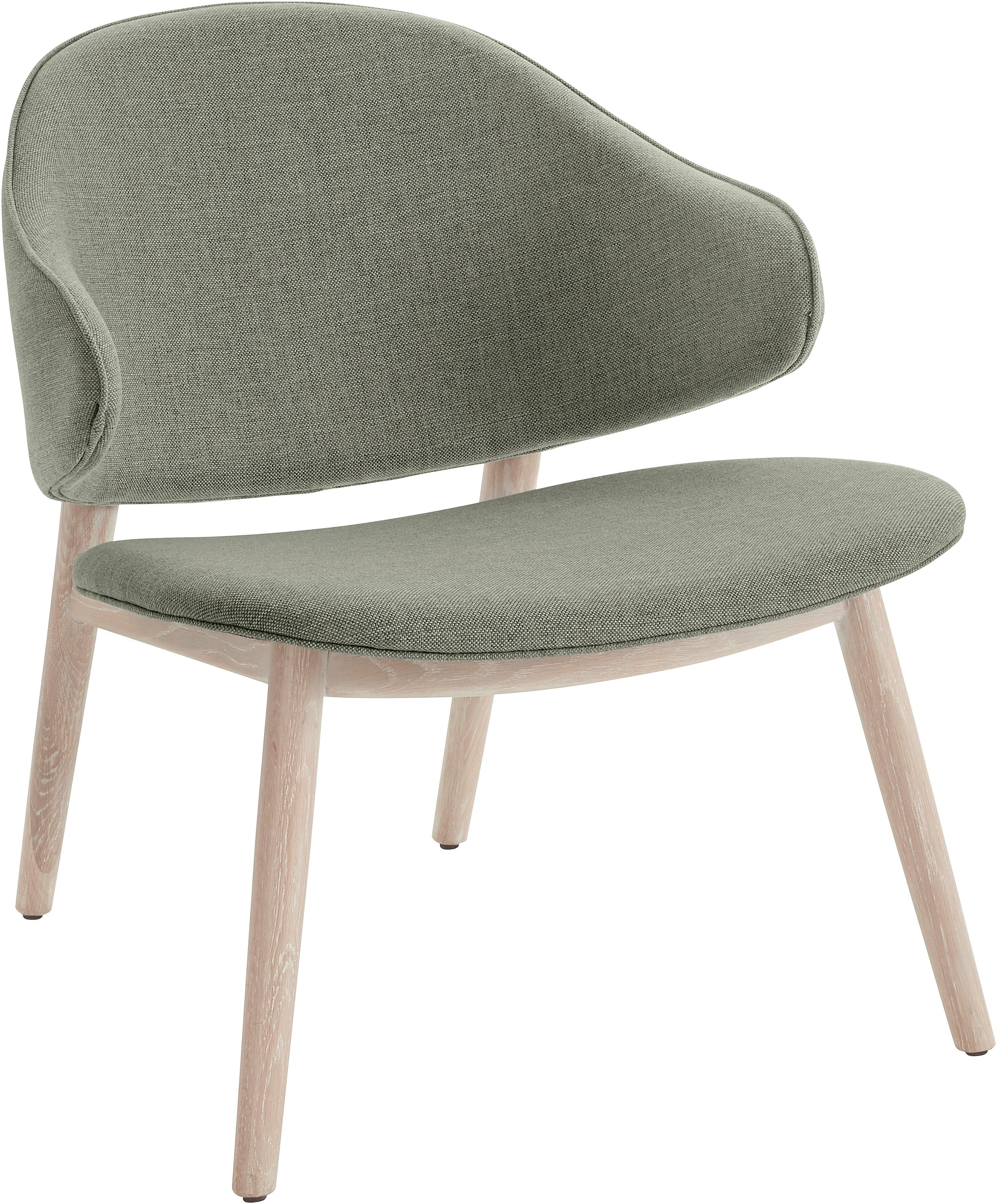 andas Sessel Sporring mit Beingestell aus massivem Eschenholz Design by Morten Georgsen