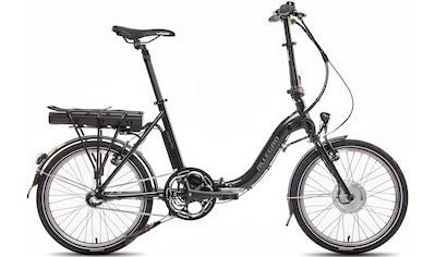 ALLEGRO E-Bike »Compact 3 Plus 374 Black«, 3 Gang, Shimano, Frontmotor 250 W kaufen