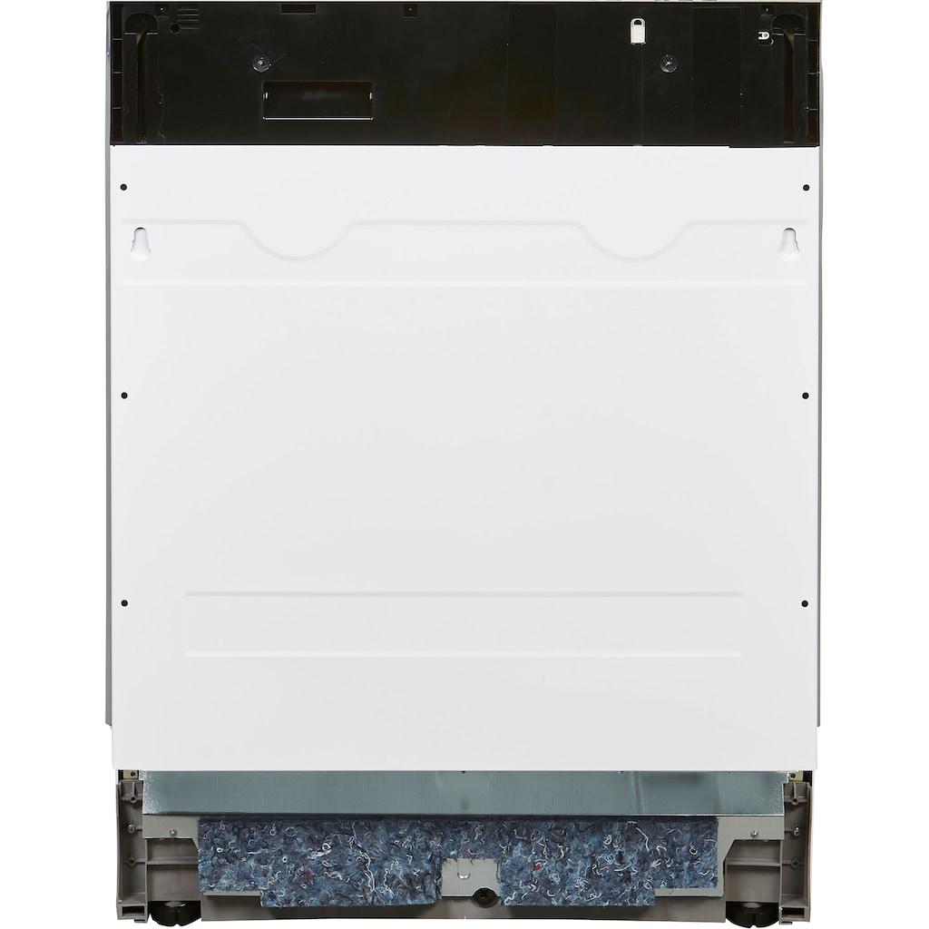 Sharp vollintegrierbarer Geschirrspüler, QW-HD44ID-DE, 9 Maßgedecke