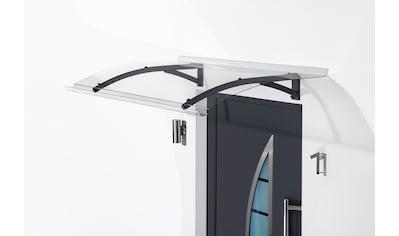 Gutta Pultvordach »TYP PT SECCO«, BxT: 200x90 cm, anthrazit - transparent kaufen
