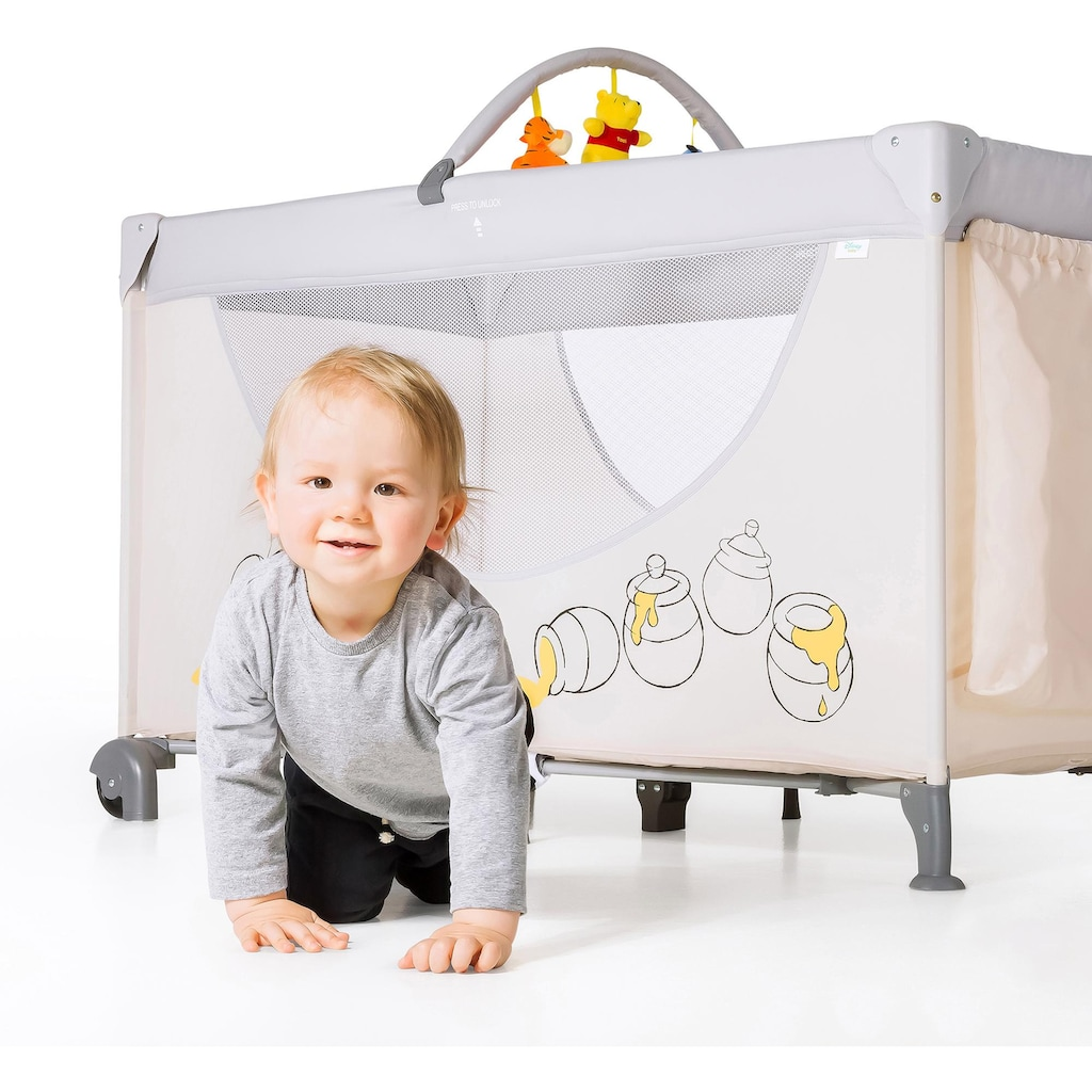 Hauck Baby-Reisebett »Dream`n Play Go, Pooh Cuddles«