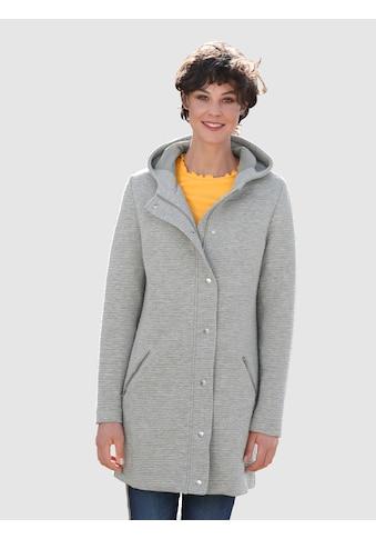 Dress In Longjacke in Strukturqualität kaufen