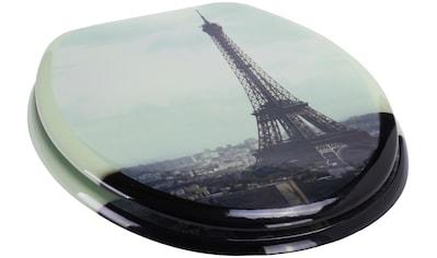 MSV WC-Sitz »PARIS«, MDF-Kern kaufen