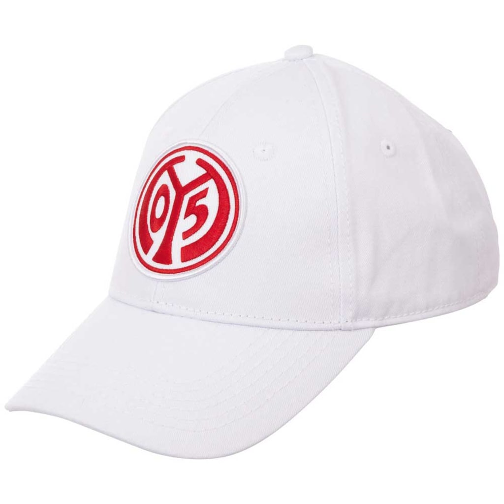 Kappa Baseball Cap »MAINZ 05«, mit plakativer Mainz 05 Logostickerei auf der Front<br />