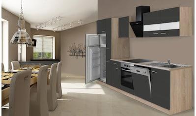 RESPEKTA Küchenzeile »Hamburg«, mit E-Geräten, Breite 310 cm kaufen