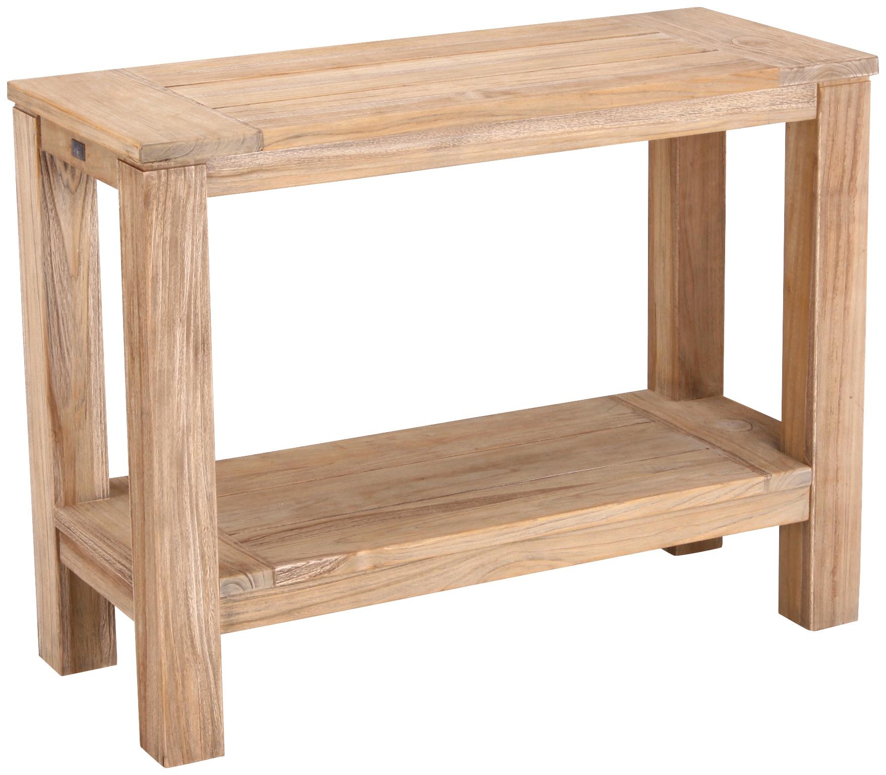 BEST Sideboard Moretti Teakholz 100x75x42 cm braun
