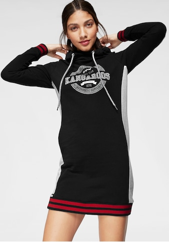 KangaROOS Sweatkleid, mit Kapuze und festen Strickbündchen kaufen