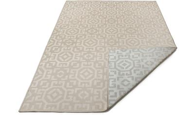 Bruno Banani Teppich »Galina«, rechteckig, 7 mm Höhe, In-und Outdoor geeignet,... kaufen