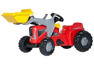 Rolly toys® trettraktor mit frontlader »rollykiddy futura« baur