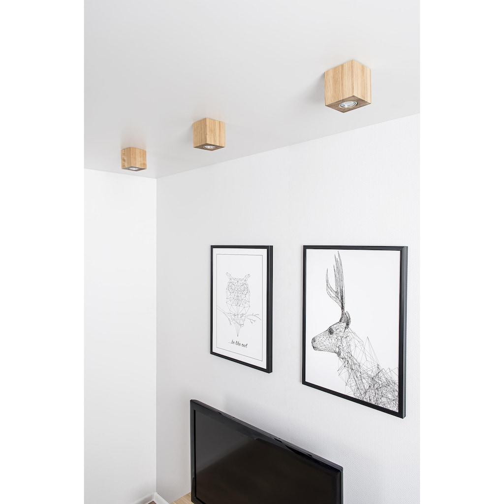 SPOT Light LED Deckenleuchte »WOODDREAM«, GU10, LED Deckenlampe