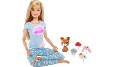 """Mattel® Anziehpuppe """"Barbie Wellness Meditation Puppe, blond"""" kaufen"""