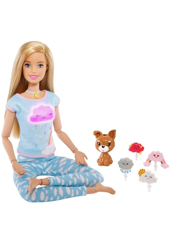 "Mattel® Anziehpuppe ""Barbie Wellness Meditation Puppe, blond"" kaufen"