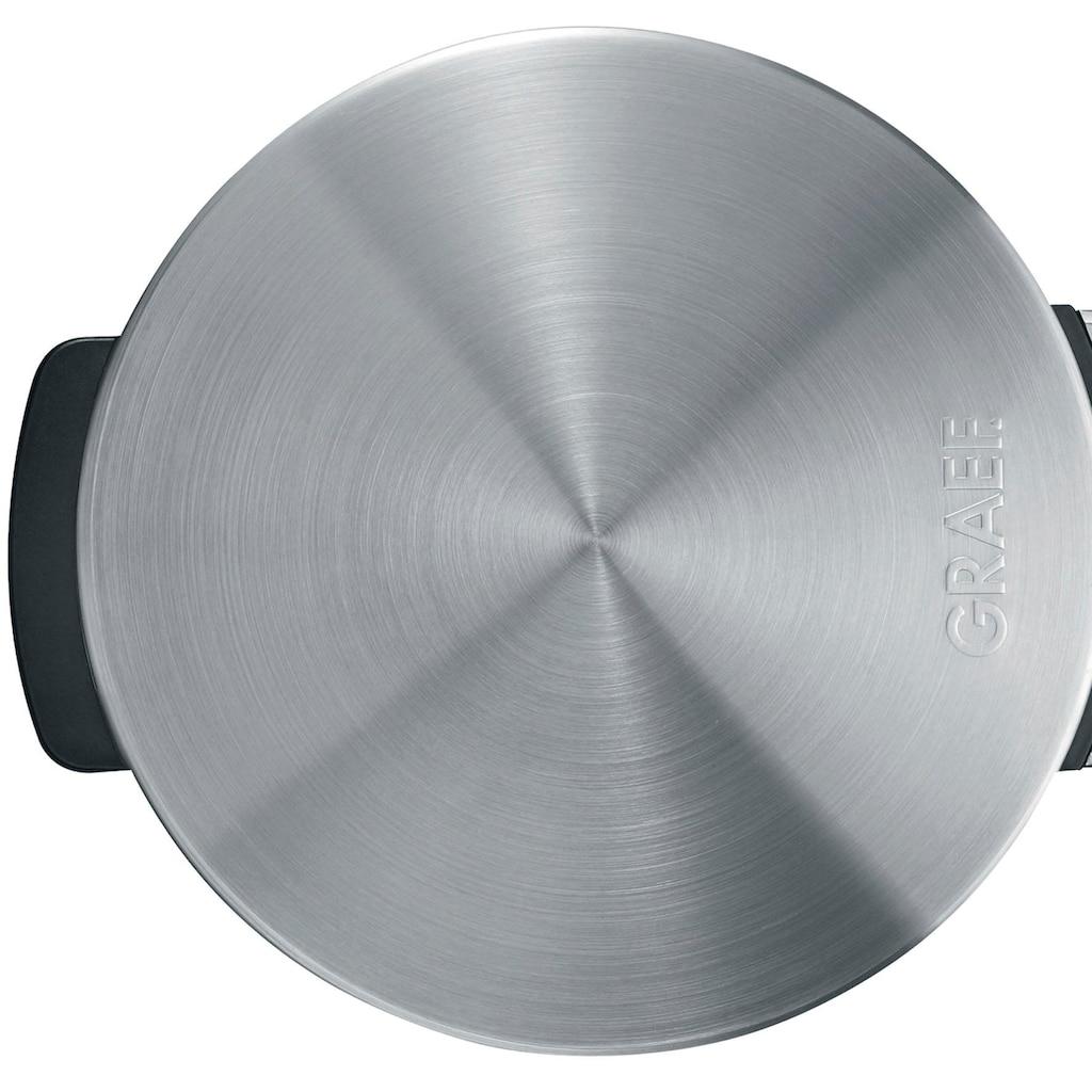 Graef Waffeleisen »Hörncheneisen HE 80, Edelstahl matt«, 850 W