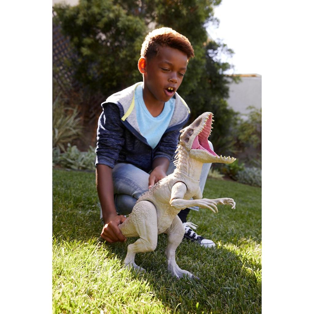 Mattel® Spielfigur »Jurassic World, Fressender Kampfaction Indominus Rex«, mit Licht & Sound