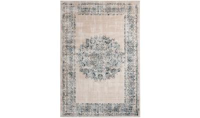 me gusta Teppich »Ariya 125«, rechteckig, 6 mm Höhe, Flachflor, gekettelt, Wohnzimmer kaufen