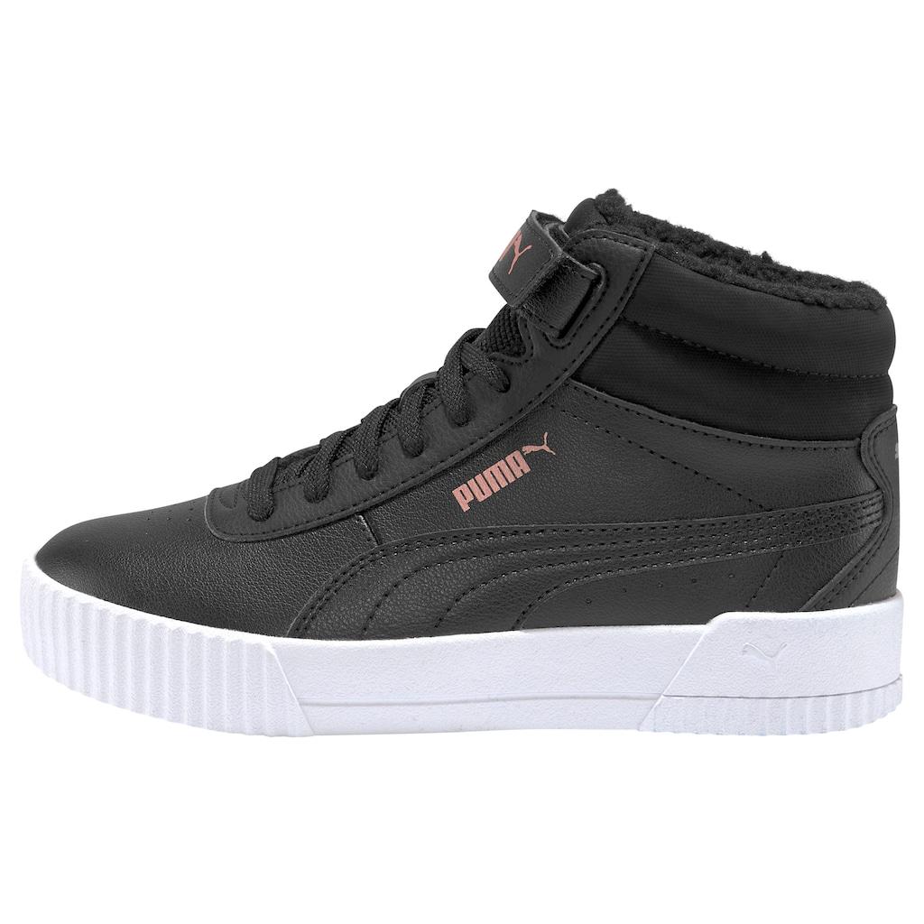 PUMA Sneaker »Carina Mid FUR Jr«