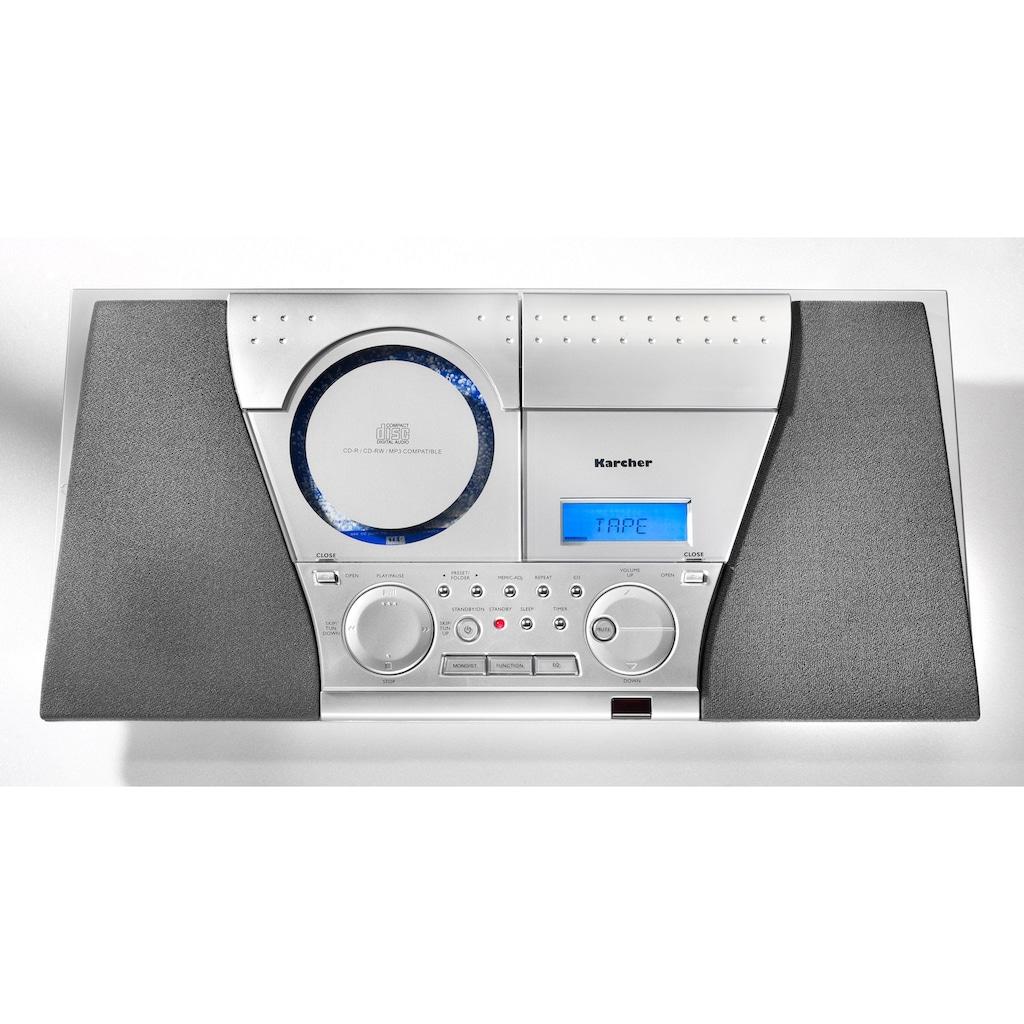 Karcher Kompaktanlage »MC 6550(N)«, (CD AM-Tuner-FM-Tuner )